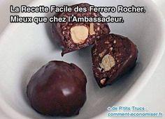 La recette des Ferrero Rocherest très facile.C'est d'ailleurs assez surprenant !Vous allez pouvoir en faire chez vous sans problème avec ou sans les enfants.Un peu de patience et p