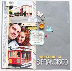LoredanaBucaria #travel #scrapbook page