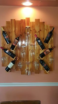 Custom wine rack!