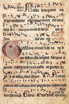 Gregorian chant is, of course, vocal music. The text, the phrases, words and eventually the syllables, can be sung in various ways. The most straightforward is recitation on the same tone, which is called syllabic as each syllable is sung to a single tone. Likewise, simple chants are often syllabic throughout with only a few instances where two or more notes are sung on one syllable.