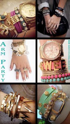Layered bracelet inspiration