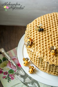 Aleksandra Rezepte: Honeycomb Kuchen mit 10 Schichten! (Schritt-für-Schritt-Fotos)