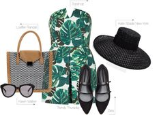 MariaOnPoint: Trendy Thursday - Palm Trees featuring @topshop @zara