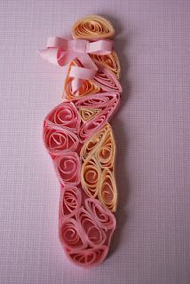 Quilled pointe shoe ... Love that ballet!