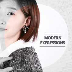 Modern Expressions서양적인 것이 현대적인 것은 아니다.express a modern flowers to max your look. Media : Crystal/ ringpocket . 2014