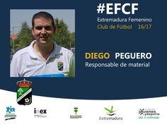 Temporada 2016/2017  Diego Peguero, responsable de material.  #EFCF #personas #valores