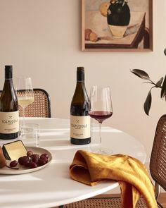 Tasmanian Tolpuddle Vineyard Chardonnay, Tolpuddle Vineyard Pinot Noir.