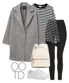 """""""OOTD 01-15-2017"""" by theeuropeancloset on Polyvore featuring Topshop, WithChic, MANGO and Bershka"""