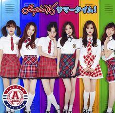 APink Transform Into School Girls For Japanese Comeback! ~ Daily K Pop News Cute Asian Girls, Sweet Girls, Apink Album, South Korean Girls, Korean Girl Groups, Mini Albums, Bubblegum Pop, Doja Cat, Ulzzang Fashion