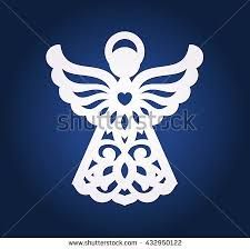 Lasercut paper Christmas angel decoration vector design Greeting Card for Xmas for wood carving paper cutting and holiday decorations Die cut Easter Angel Christmas Angel Decorations, Christmas Angels, Christmas Crafts, Christmas Ornaments, Merry Christmas, Angel Vector, Paper Angel, Angel Images, Wood Burning Patterns