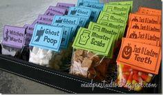 Funny Halloween Treat Bags!