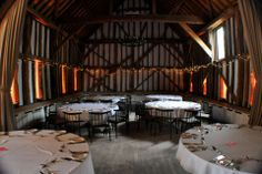 Gold uplighting at the Olde Bell Hurley for a May wedding Event Lighting, Wedding Lighting, May Weddings, Mood Light, Fairy Lights, Hurley, Table, Archive, Gold