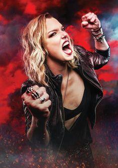 Lzzy Hale by Jeremy Saffer Photography Lzzy Hale, New Look Fashion, Women Of Rock, Metal Tattoo, Halestorm, Metal Girl, Cut My Hair, Rock Chic, Metalhead