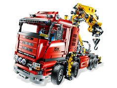 With built-in LEGO® Power Functions, this Crane Truck always gets the job done!