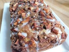 Weight Watcher recipes, Apple fritter loaf by drizzle me skinny