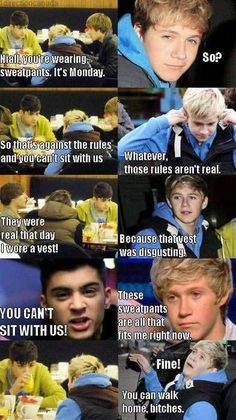 Mean girls and one direction best thing ever :)