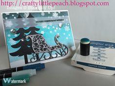 Stampin' Up! Santa's Sleigh Christmas Card