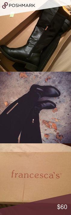 Francesca's knee high boots Francesca's knee high boots Francesca's Collections Shoes Winter & Rain Boots