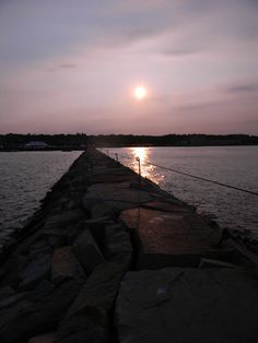 The Jetty in Plymouth Massachusettes