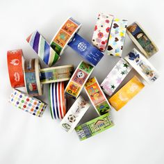 Super cute mini tapes with adorable kid designs.15mmx7mMade in Japan.