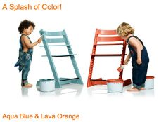 Enter our #giveaway to win a Stokke Tripp Trapp in one of two fabulous new colors! Ends 06/13/13.