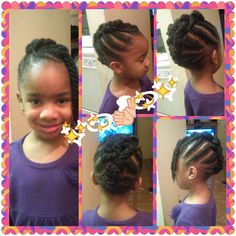 Cute Braided Mohawk Shared By Shaneria Mosley - http://community.blackhairinformation.com/hairstyle-gallery/kids-hairstyles/cute-braided-mohawk-shared-shaneria-mosley/ #kidshairstyles