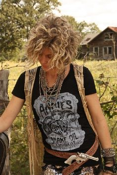 Rock Chick! Short Haircuts for Curly Hair 2015