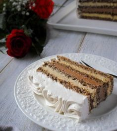 15 najpopularnijih recepata u - Mystic Cakes Torte Recepti, Kolaci I Torte, Bakery Recipes, Cookie Recipes, Dessert Recipes, Brze Torte, Romanian Desserts, Torte Cake, Food Garnishes