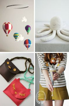 DIY Roundup – Gifts for Kids