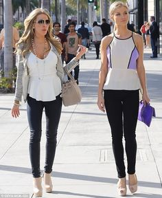 Joanna  Krupa and Real Housewives of Miami co-star Lisa Hochstein #RHOM  LIKE us on Facebook!:  http://www.facebook.com/therealhousewivesfanclub
