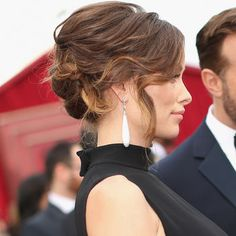 **again, Olivia's color and style is so fresh and perfect for Spring weddings and events* The Most Amazing Hair, Makeup and Nail Looks of the 2014 Oscars, Right Here!