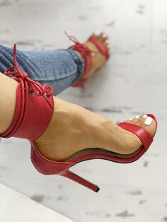 c3809ab61a4 boutiquefeel   Cut Out Lace Up Thin Heels Sandals  SandalsHeels
