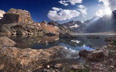 Chimtarga Peak Fann Mountains