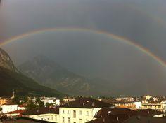 Rainbow over Tolmezzo (UD).