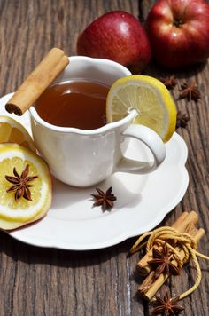 Did you know that you can make tea in your slow cooker? Try this recipe for Hot Apple Tea. #CrockPot #SlowCooker #apple #tea #recipe