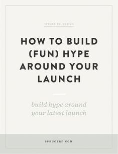 How to build (fun) hype around your launch. If you are a small business owner, online business owner, or any kind of entrepreneur, these product launch tips will start helping you making your launches more successful Business Branding, Business Marketing, Online Marketing, Social Media Marketing, Content Marketing, Business Launch, Marketing Strategies, Marketing Ideas, Creative Business