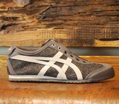 Mexico 66 Slip on Onitsuka Tiger Dark Grey Icicle