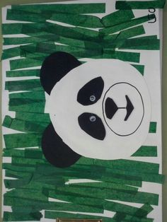 Tapa projecte xina Kindergarten Art, Preschool Art, Chineese New Year, All About China, Jungle Crafts, Chinese New Year Crafts For Kids, Animals Black And White, Panda Art, New Year's Crafts
