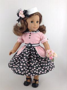 American Girl 18-inch Doll Clothes 1950's von HFDollBoutique