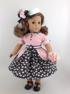 American Girl 18-inch Doll Clothes 1950's von HFDollBoutique