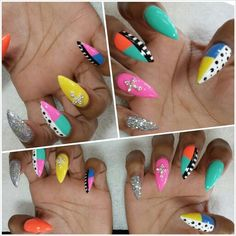 #stilettonails #stiletto #nails