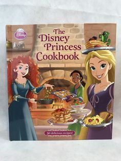 From Rapunzel's Frying Pan Eggs to Ariel's Sea Turtle Cupcakes, this beautiful cookbook is filled with delicious recipes inspired by the Princesses' many adventures. With simple step-by-step instructions, mouth-watering photos of each dish, and helpful tips from the Princesses themselves, this cookbook makes it easy to whip up some kitchen magic. | eBay!