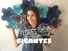 Como hacer flores de papel !!!                                                                                                                                                                                 Más