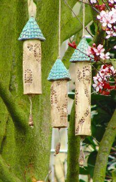 Keramik Windspiel Klangstäbe von NANDOMO auf Etsy