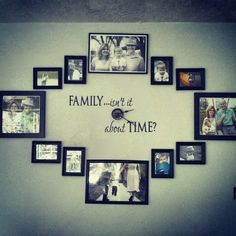 New Family Clock! Family Isn't it About Time