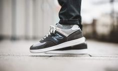 New Balance 576 Sneaker Stores, Grey And White, New Balance, News, Sneakers, Shopping, Shoes, Style, Fashion