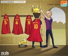 Xavi Iniesta, Barcelona Messi, Messi 10, Camp Nou, Family Guy, Fictional Characters, Cartoons, Instagram, Sports