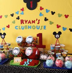 Mickey Mouse Clubhouse Birthday Party Ideas | Photo 1 of 18 | Catch My Party