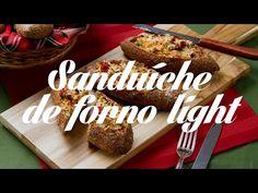 Sanduíche de forno light - Lucilia Diniz