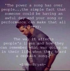 Exactly.. A song can hit you..